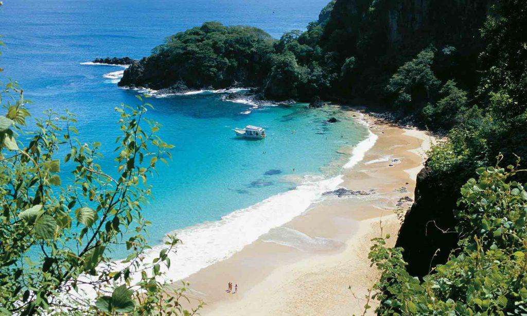 Top 10 – Melhores PraiasdoNordesteBrasileiro: Baía do Sancho, Fernando de Noronha (PE)
