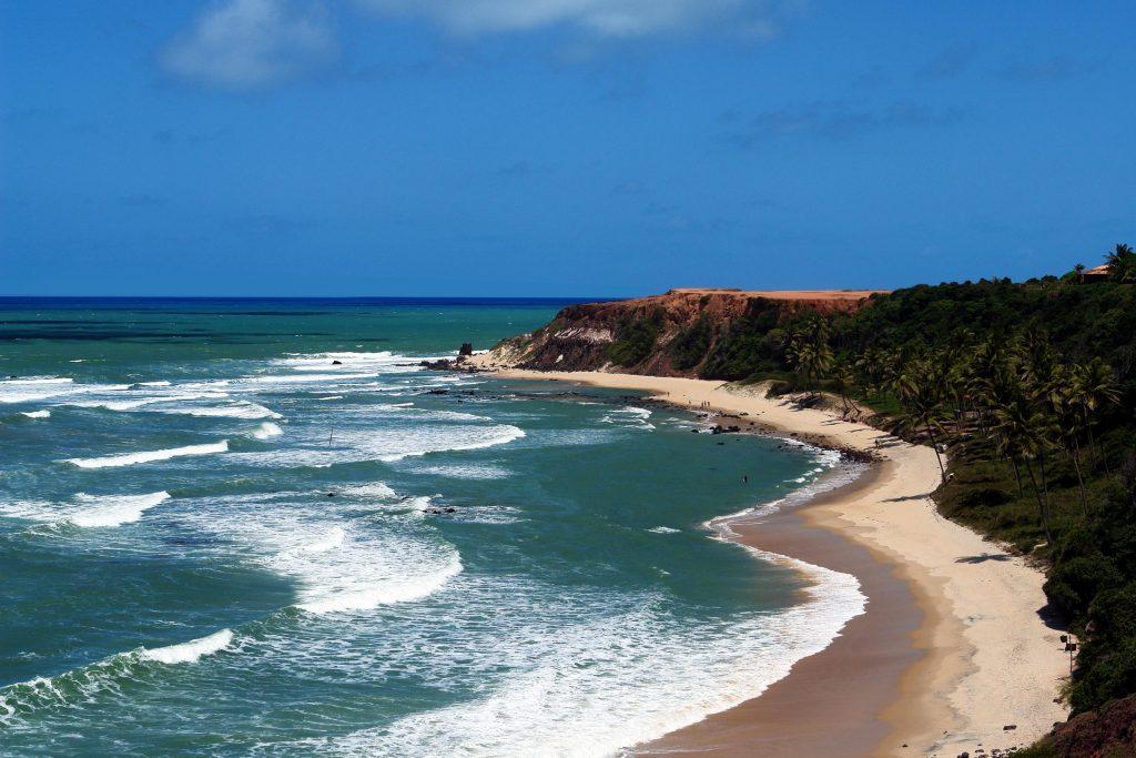 Top 10 – Melhores Praias do Nordeste Brasileiro: Praia de Pipa, Tibau do Sul (RN)