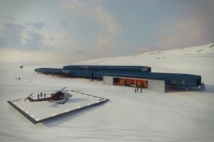 nova estação antartica