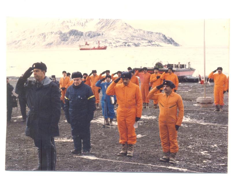 recepção Ministro da marinha