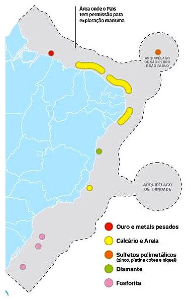 onde estão os recursos minerais do Brasil