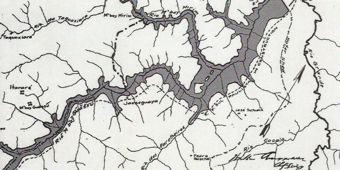 projeto da represa