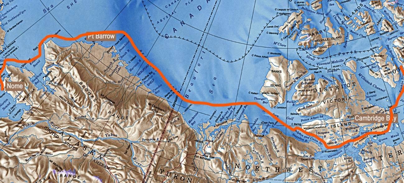 Rota Polar ilustração 4
