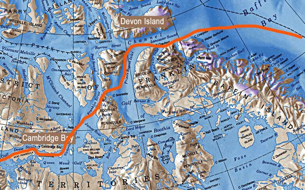 Rota Polar ilustração 5