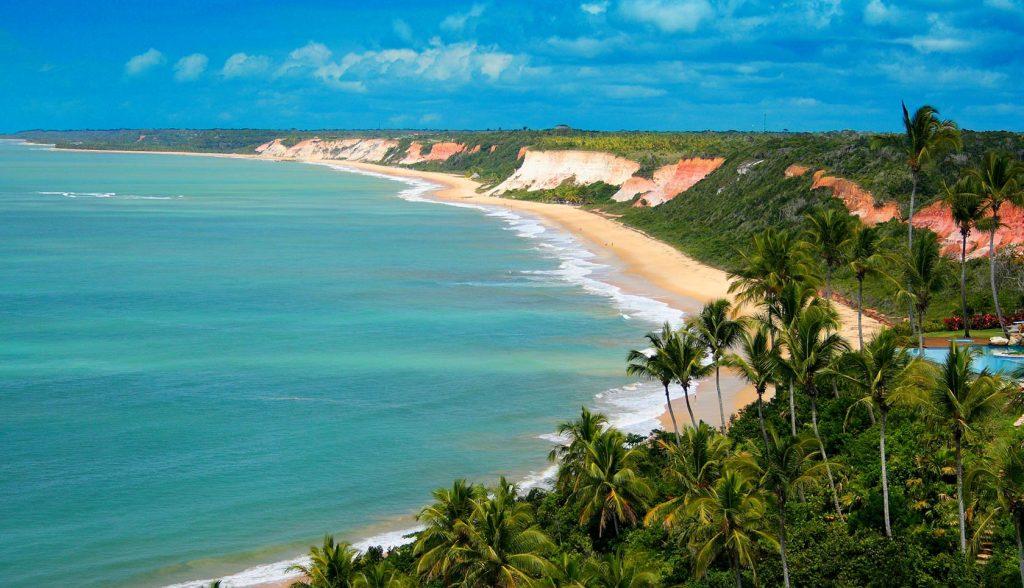 Top 10 – Melhores Praias do Nordeste Brasileiro: Arraial d'Ajuda, Porto Seguro (BA)