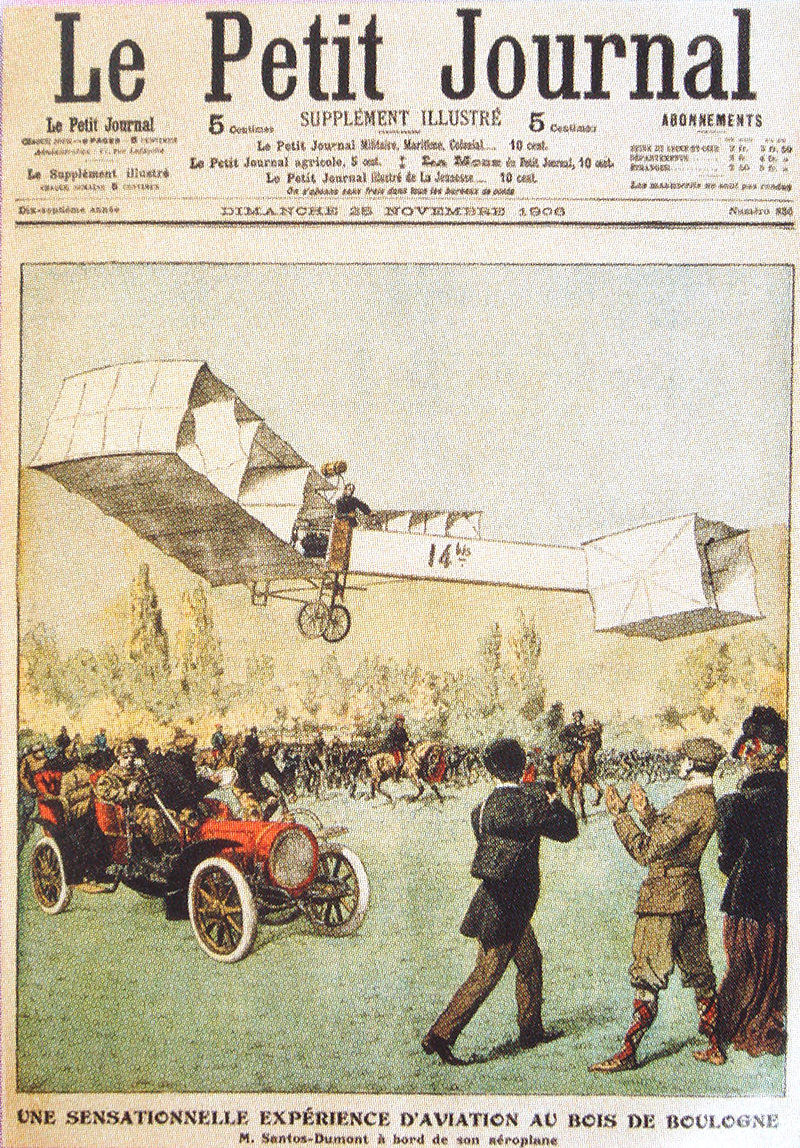 Le_Petit_Journal_Santos_Dumont_25_Novembre_1906