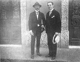 Álvaro Alberto e Santos Dumont