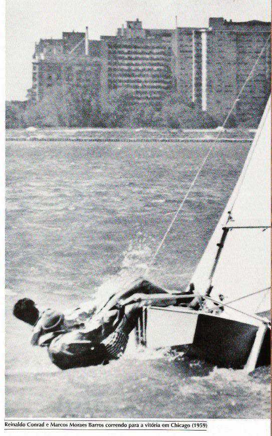 Reinaldo Conrad e Marcos Moraes Barros Chicago 1959